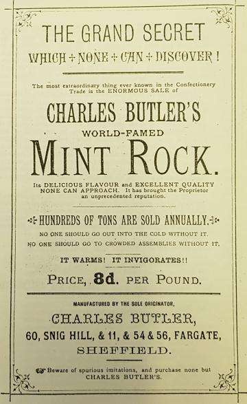 Advert 1886